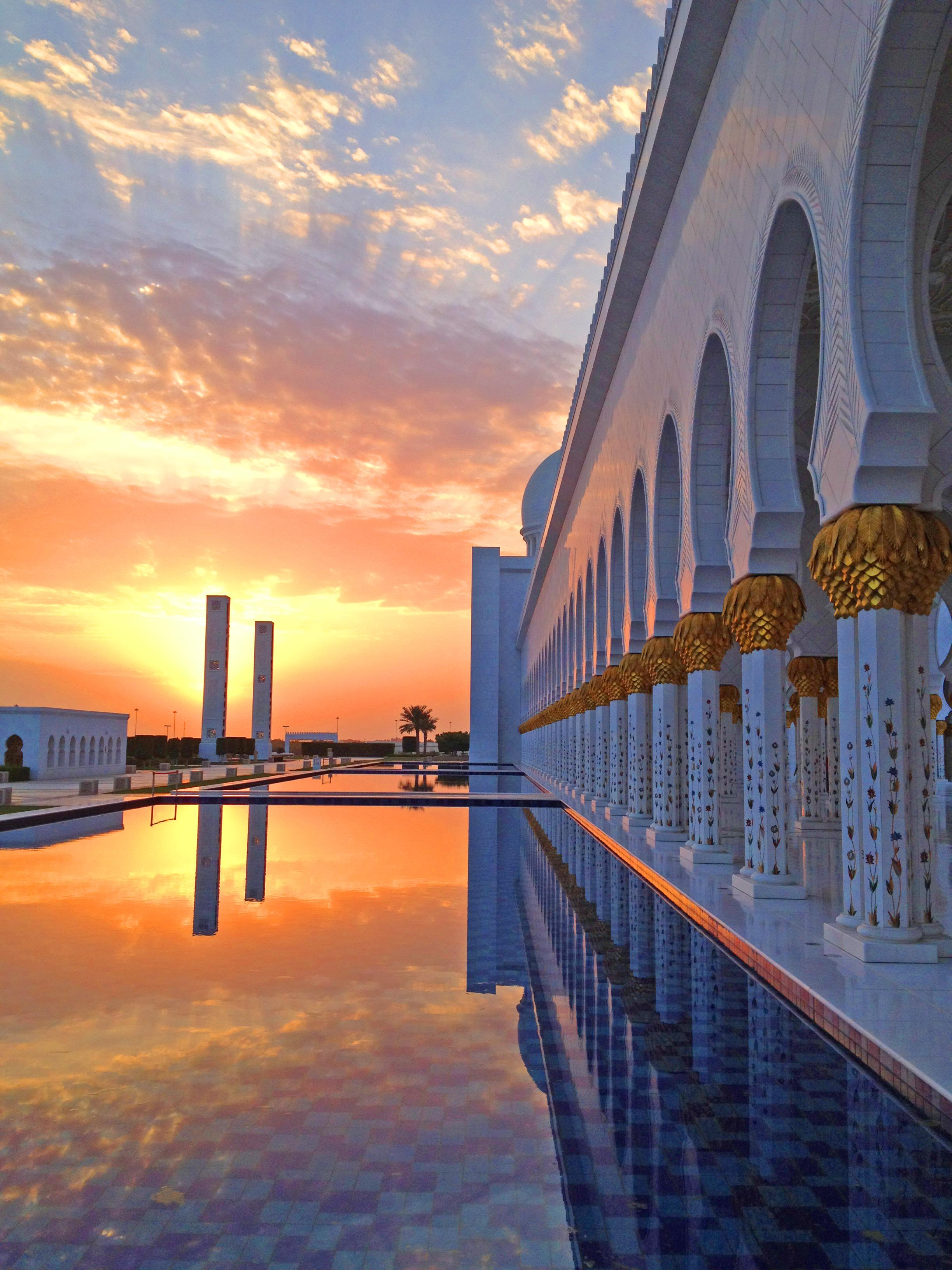 an account of moving to abu dhabi