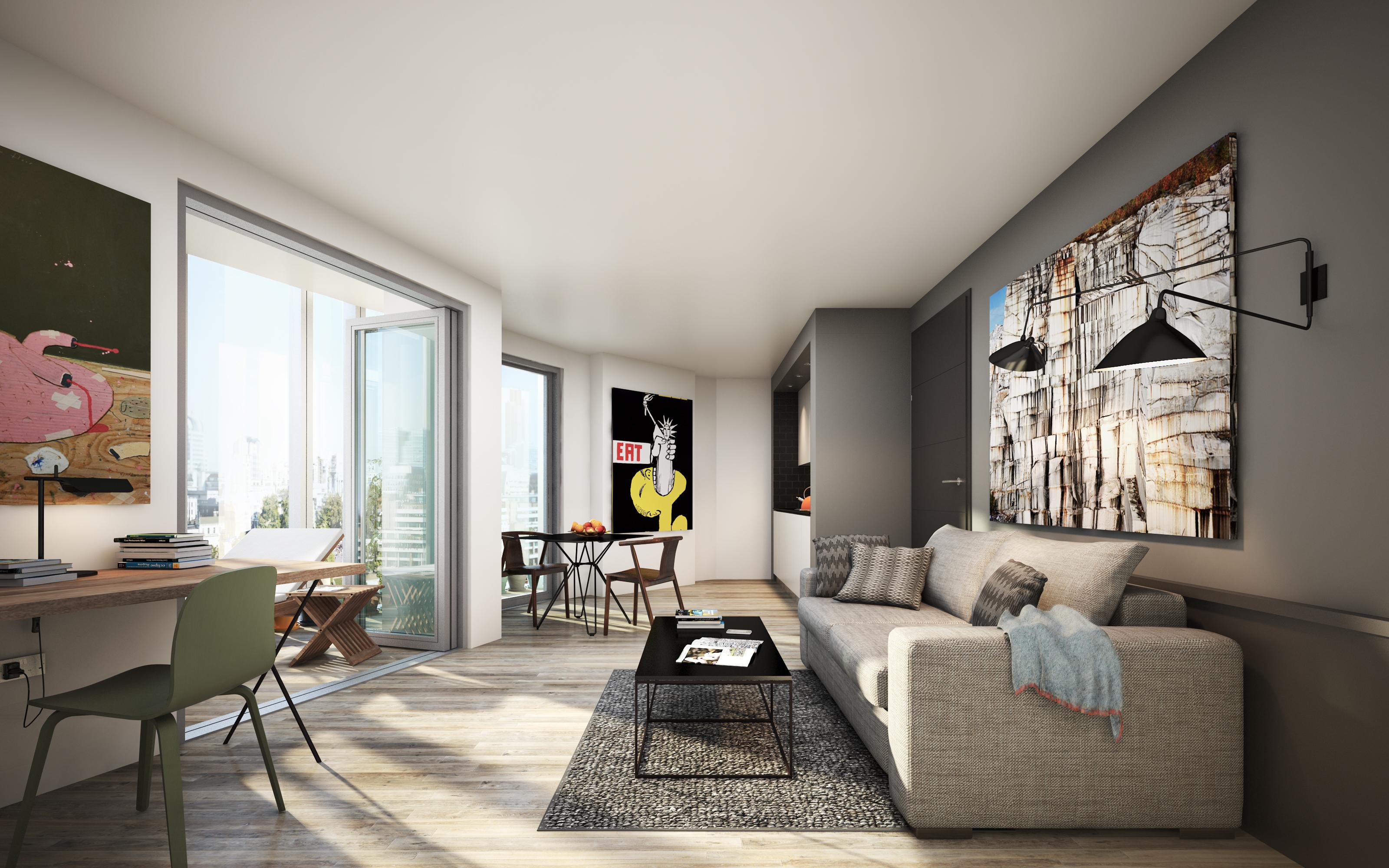Master Villa Living Room Urban Villa
