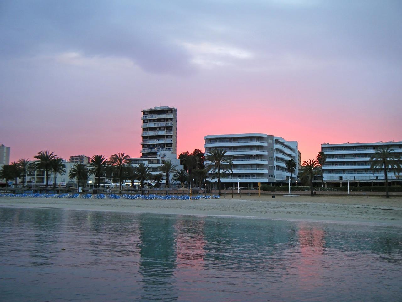 sunset- Magaluf