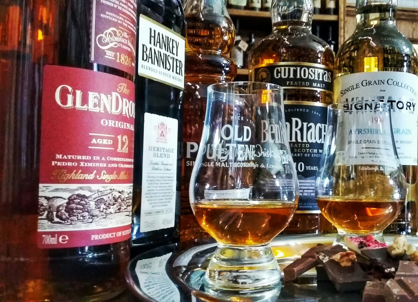 The Perfect Blend- Whisky and Chocolate Tasting (1)