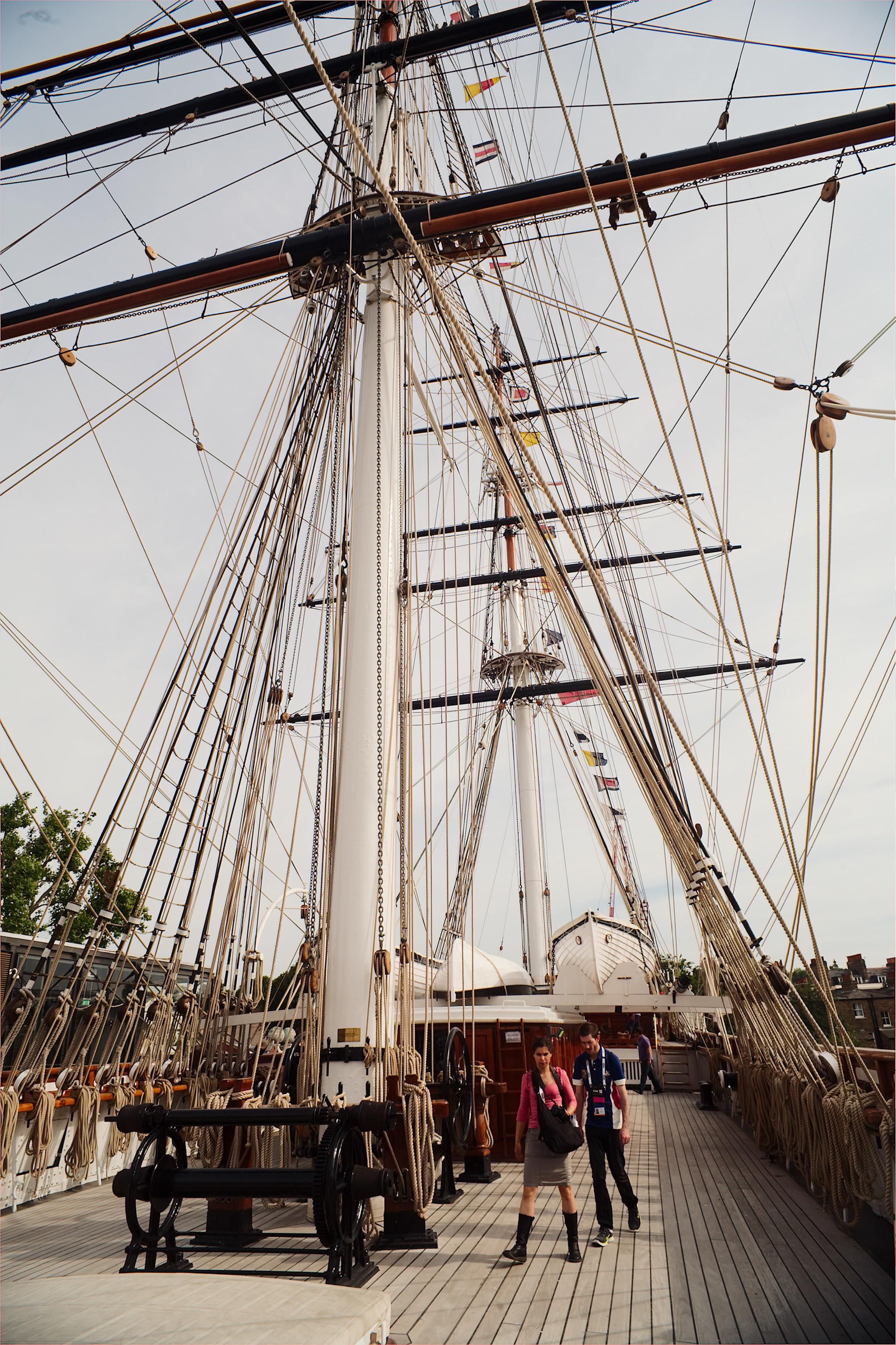 Cutty Sark, Greenwich - c. VisitEngland, Visit Greenwich